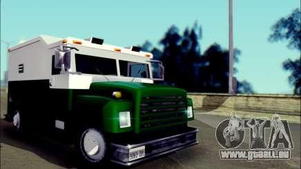 Shubert Armored Van from Mafia 2 für GTA San Andreas