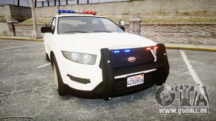 GTA V Vapid Interceptor LSS White [ELS] für GTA 4