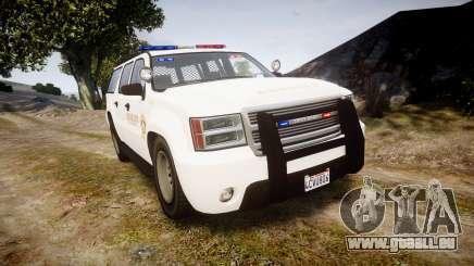 GTA V Declasse Granger LSS White [ELS] für GTA 4