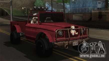 Canis Bodhi V1.0 Rusty für GTA San Andreas
