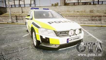 Volkswagen Passat 2014 Marked Norwegian Police pour GTA 4