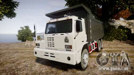 HOWO Truck pour GTA 4