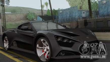 Zenvo ST1 v1.2 Final HD pour GTA San Andreas