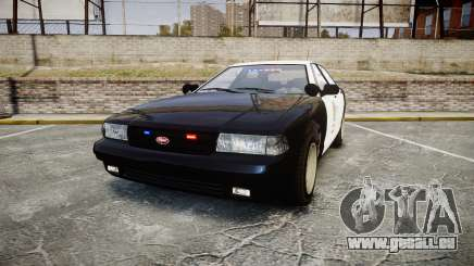 GTA V Vapid Cruiser LSP [ELS] Slicktop pour GTA 4