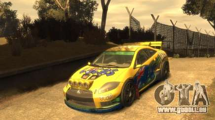 Mitsubishi Eclipse GT Rallycross für GTA 4