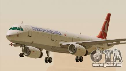 Airbus A321-200 Turkish Airlines pour GTA San Andreas