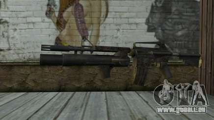 CAR-15 with XM-148 from Battlefield: Vietnam pour GTA San Andreas