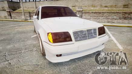 Mercedes-Benz E500 1998 Tuned Wheel White pour GTA 4