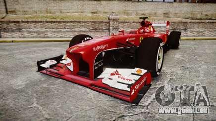 Ferrari F138 v2.0 [RIV] Massa TMD pour GTA 4