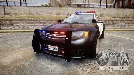 GTA V Cheval Fugitive LS Police [ELS] für GTA 4