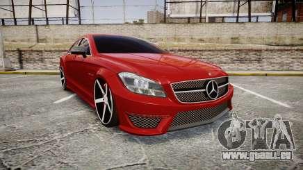 Mercedes-Benz CLS 63 AMG Vossen für GTA 4