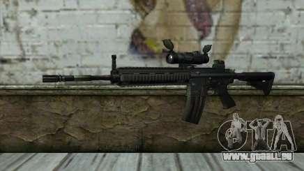 HK416 (Bump mapping) v1 pour GTA San Andreas