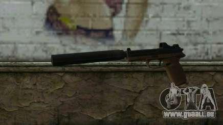 FN FNP-45 Mit Schalldämpfer und Sichtweite für GTA San Andreas