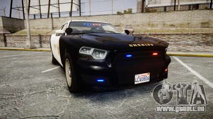 GTA V Bravado Buffalo LS Sheriff Black [ELS] Sli pour GTA 4