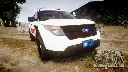 Ford Explorer 2013 LC Sheriff [ELS] pour GTA 4