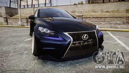 Lexus IS 350 F-Sport pour GTA 4