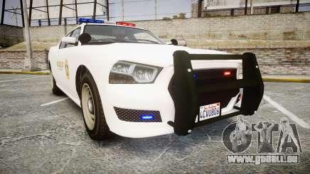 GTA V Bravado Buffalo LS Sheriff White [ELS] pour GTA 4