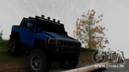 Hummer H6 Sut Pickup pour GTA San Andreas