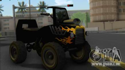 Sweeper from GTA 5 pour GTA San Andreas