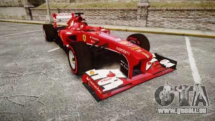 Ferrari F138 v2.0 [RIV] Alonso TSSD pour GTA 4