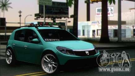 Dacia Sandero XIC pour GTA San Andreas