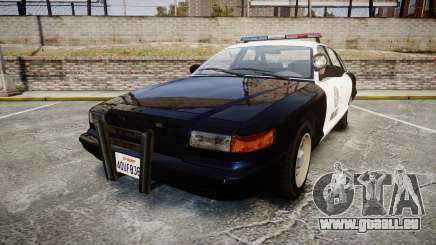 Vapid Police Cruiser GTA V LED [ELS] pour GTA 4