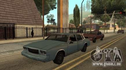 Tahoma Restyle für GTA San Andreas