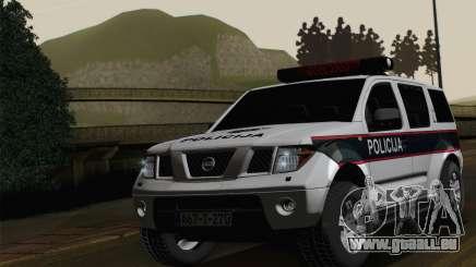 Nissan Pathfinder Policija für GTA San Andreas