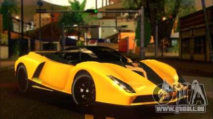 Grotti Cheetah (HQLM) für GTA San Andreas