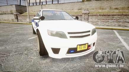 GTA V Cheval Fugitive LS Liberty Police [ELS] Sl für GTA 4