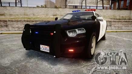 GTA V Bravado Buffalo LS Police [ELS] für GTA 4