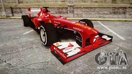 Ferrari F138 v2.0 [RIV] Alonso TMD pour GTA 4
