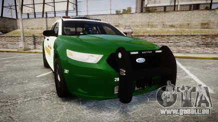 Ford Taurus 2014 Liberty City Sheriff [ELS] pour GTA 4