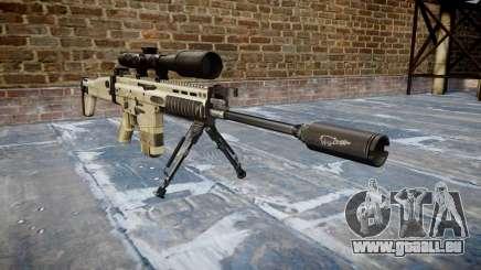 Fusil Mk 17 SCAR-H bipied pour GTA 4