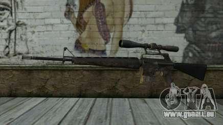 M16S from Battlefield: Vietnam für GTA San Andreas