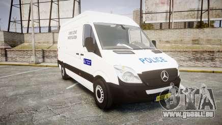 Mercedes-Benz Sprinter 311 cdi London Police pour GTA 4