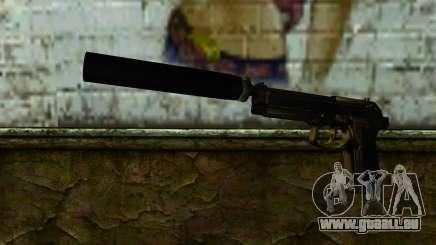 Beretta M9 Silenced für GTA San Andreas