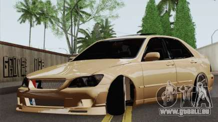 Lexus IS300 Hellaflush für GTA San Andreas