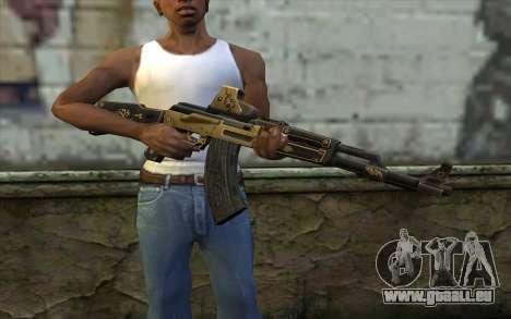 AK47 from PointBlank v2 pour GTA San Andreas troisième écran