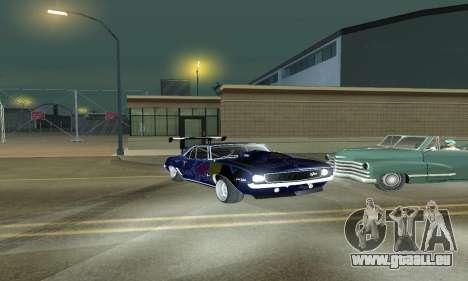 Chevrolet Camaro SS RedBull für GTA San Andreas