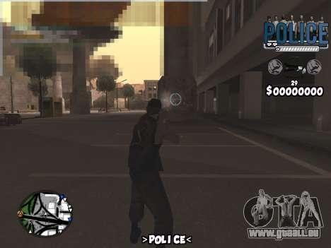 C-Hud Police pour GTA San Andreas deuxième écran