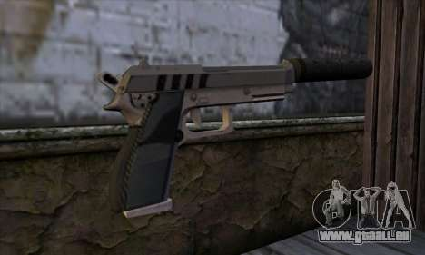 Silenced Pistol from GTA 5 für GTA San Andreas zweiten Screenshot