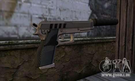 Silenced Pistol from GTA 5 pour GTA San Andreas deuxième écran