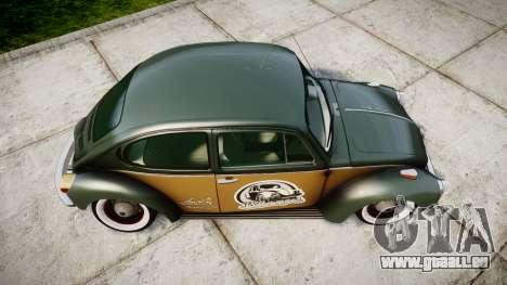 Volkswagen Beetle für GTA 4 rechte Ansicht
