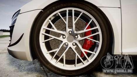 Audi R8 LMX 2015 [EPM] Carbon Series für GTA 4 Rückansicht