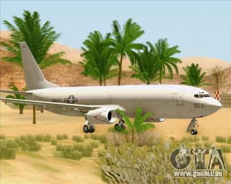 Boeing P-8 Poseidon US Navy für GTA San Andreas linke Ansicht