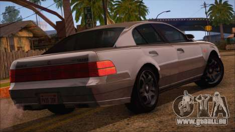 GTA 5 Intruder pour GTA San Andreas laissé vue
