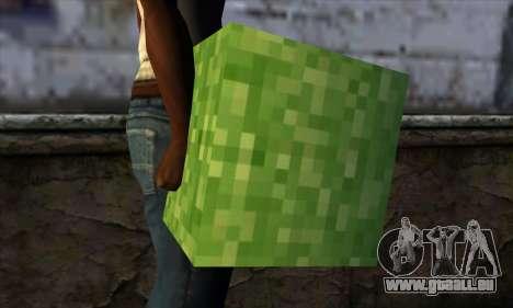 Block (Minecraft) v5 für GTA San Andreas dritten Screenshot