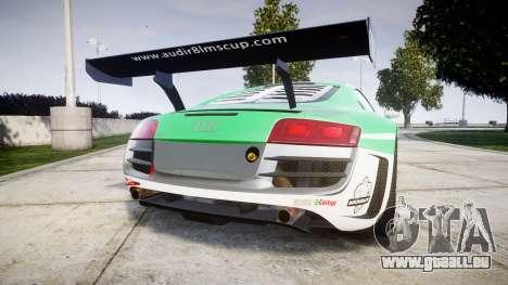 Audi R8 LMS Castrol EDGE für GTA 4 hinten links Ansicht