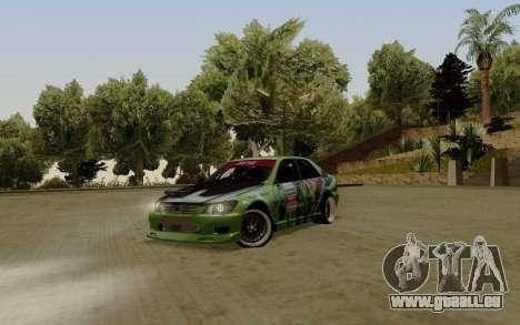 Toyota Altezza Toy Sport für GTA San Andreas linke Ansicht
